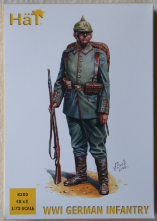 HaT 1/72 HAT8200 German Infantry (Early) (WW1)